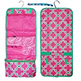 New Pink Green Hanging Toiletry Cosmetic Travel Bag Shower Caddy TravelNut® Accessories Essentials Best Girlfriend Unique Cool Great Mother Day Nurse Graduation Gift Idea Mom Teacher Grandmother
