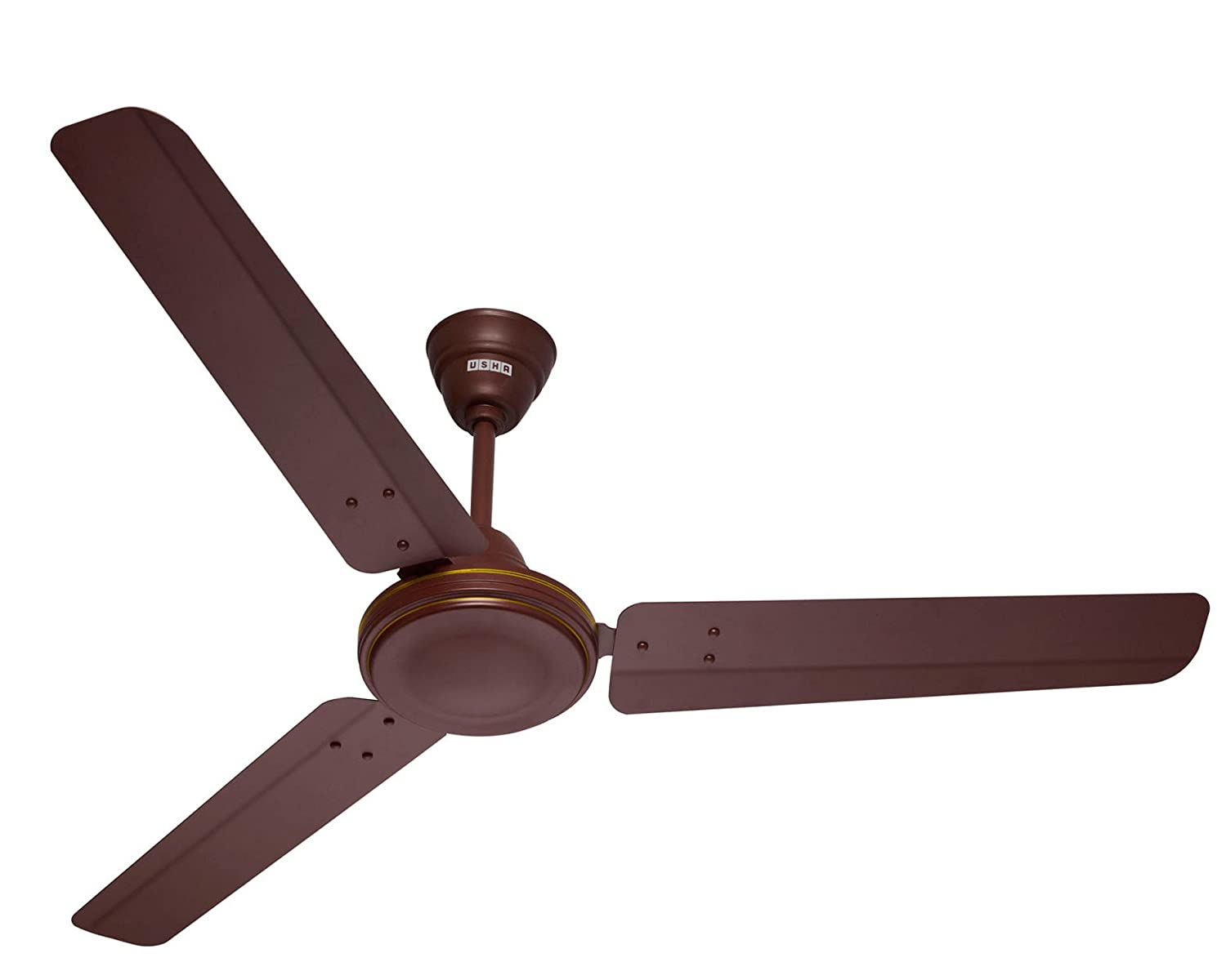 Buy usha striker 1200mm ceiling fan without regulator matt brown buy usha striker 1200mm ceiling fan without regulator matt brown online at low prices in india amazon aloadofball Image collections