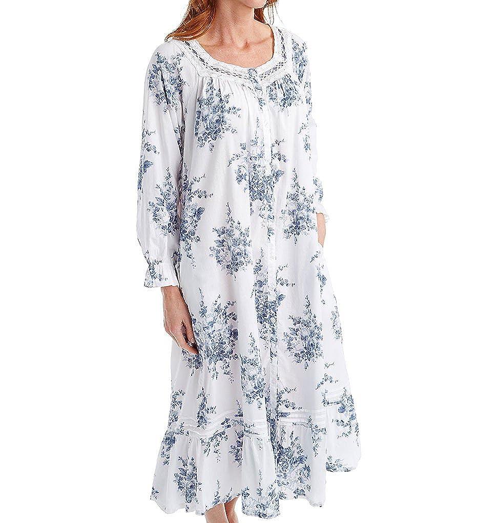 La Cera 100% Cotton Woven Printed Floral Button Front Robe (1211R) at  Amazon Women s Clothing store  e420695ca