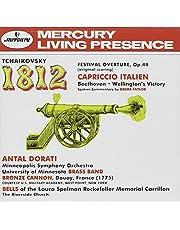 Tchaikovsky: 1812 Overture / Capriccio Italien