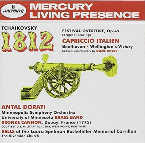 Wellington Check - Tchaikovsky: 1812 Festival Overture, Capriccio Italien / Beethoven: Wellington's Victory
