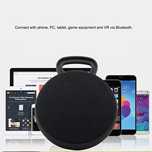 Mini portátil inalámbrico Bluetooth Altavoz Bluetooth Tela ...