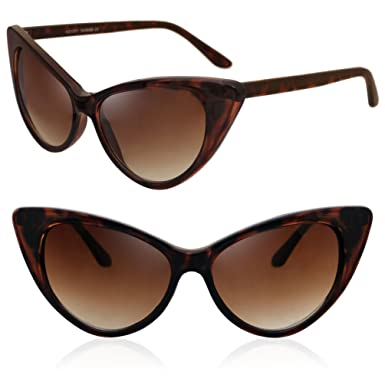 Amazon.com: MJ Eyewear la nueva Cat Eye alta punta Moda ...