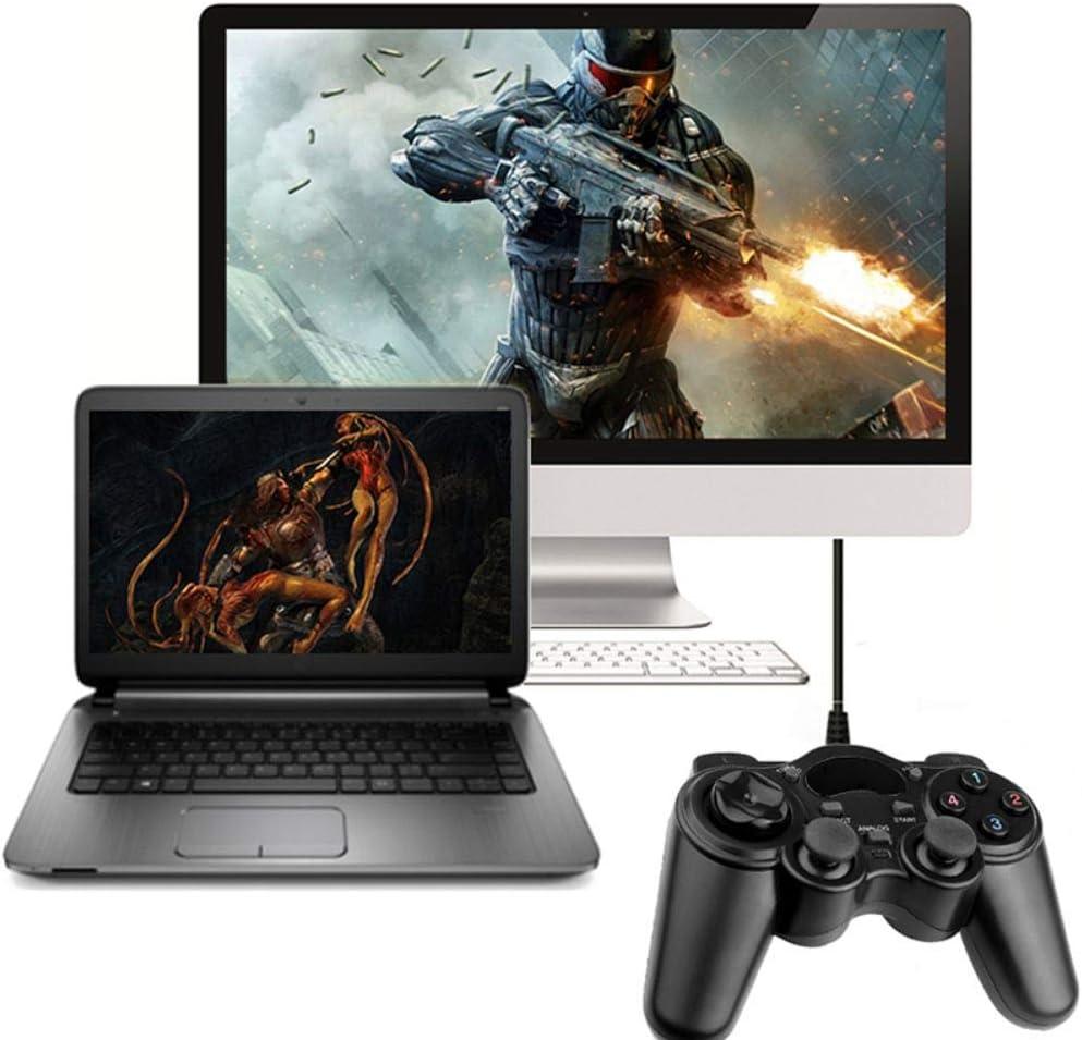 Gyratedream PC Console USB 2.0 kabelgebunden Geeignet f/ür Laptop Windows 7//8//10 XP//Vista Gamepad