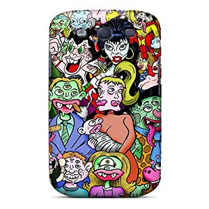 Fashion WqK7902fNep Cases Covers For Galaxy S3(monster Mela)