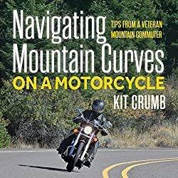 Navigating Mountain Curves on a Motorcycle