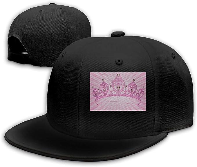Queen Elena Gorra de béisbol con diseño de corazón Rosa y Corona ...