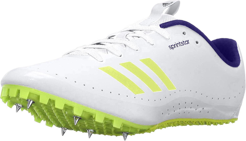Zapatos para correr adidas Performance Sprintstar W, blanco / blanco / verde, 5 M US: Amazon.es: Zapatos y complementos
