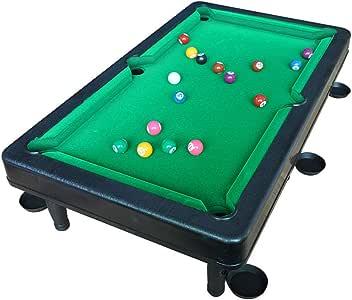 YSYDE Mini Mesa de Billar de 20 Pulgadas, Mesa de Juegos para ...