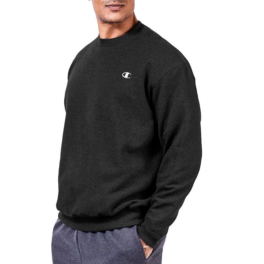 Champion CH104 Big & Tall Mens Sweatshirt - Black