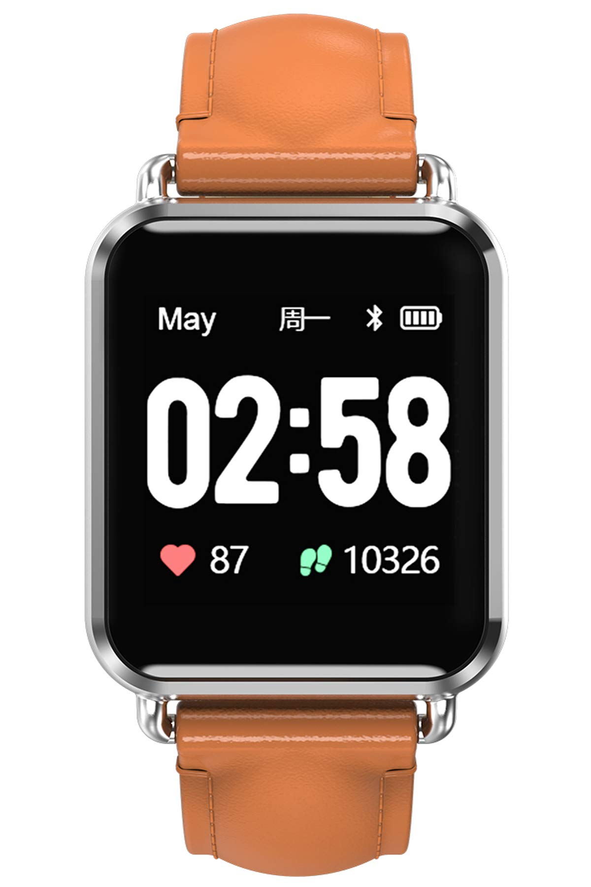 Fitness Tracker Smart Watch ECG Heart Rate Monitor Blood Pressure Sleep Monitor Activity Tracker Smart Bracelet