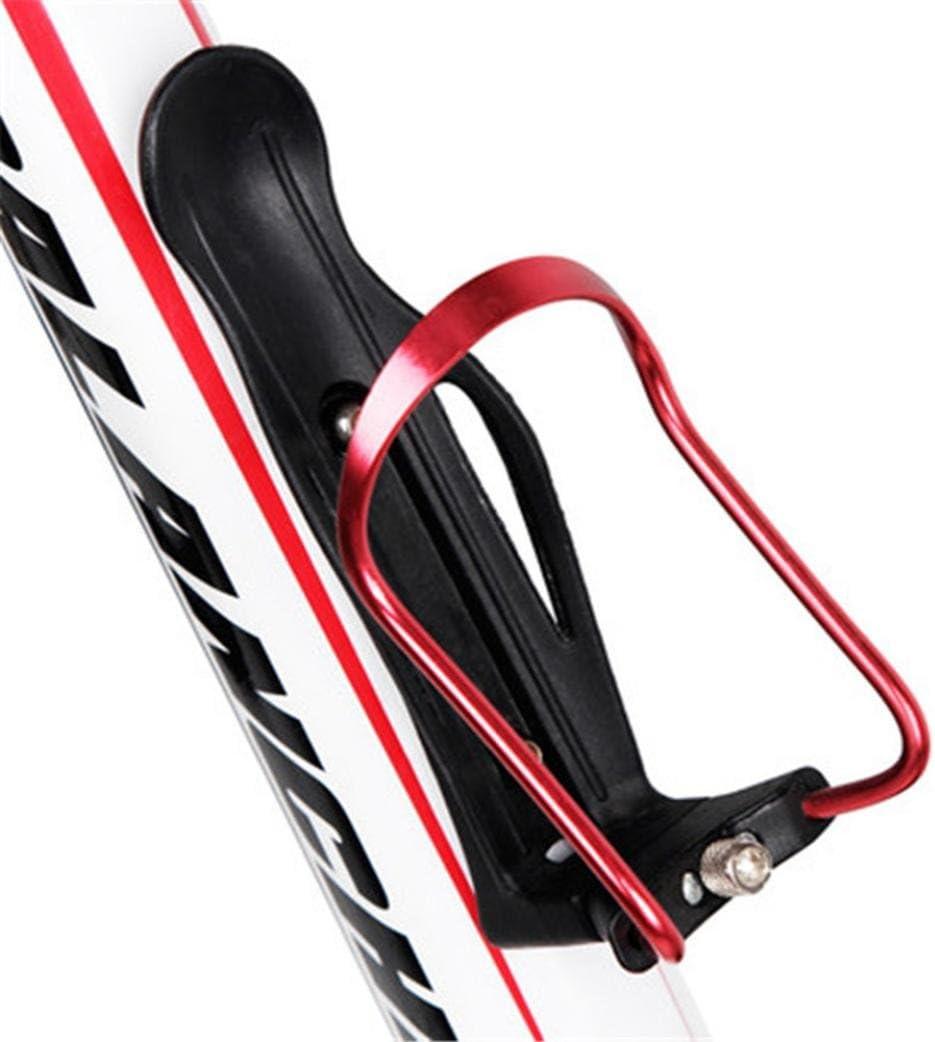 Chartsea Cycling Bike Bicycle Aluminum Alloy Handlebar Water Bottle Holder Cages Adjustable Handle Kettle Holde Black