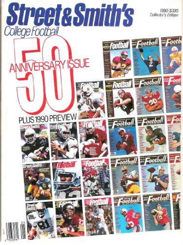 Street & Smith's College Football 50 Anniversary Issue 1990 Collector's Edition by Street & Smith