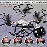 Alta Quadcopter Sparrow RC Drone 6 Axis Gyro 2.4GHz 4 Channel and Remote Control