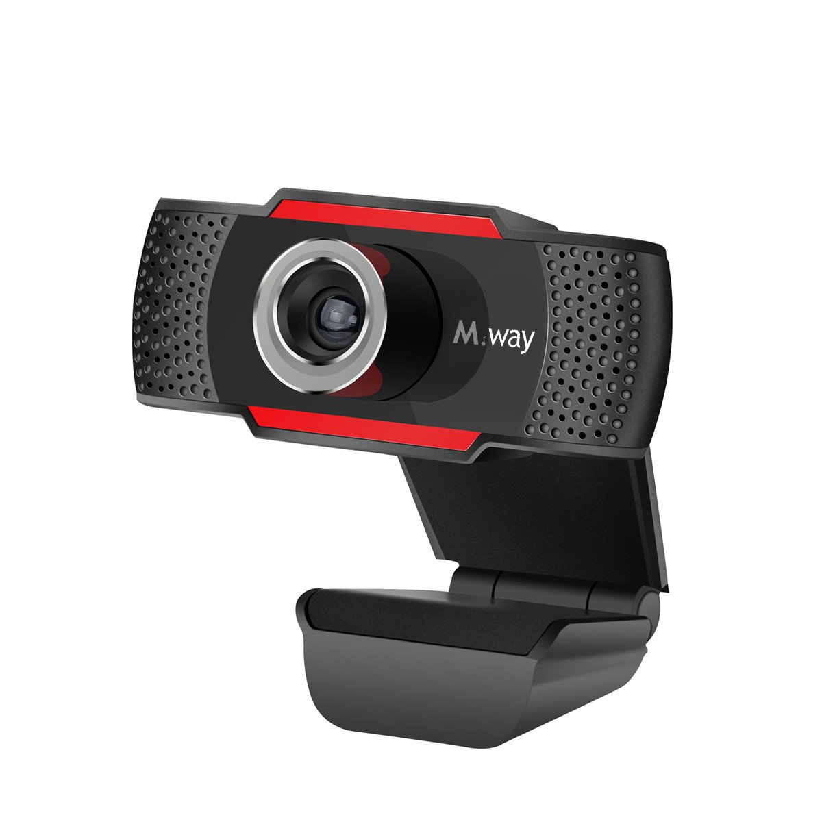 Webcam HD 720p, M.Way USB Cá mara Web de Alta Definició n con Micró fono Cá mara de PC para Skype/MSN/Facebook/Google Hangouts Yahoo! Messenger compatible con Windows 7, Windows 8, Windows 10 Mac OS 10.6 M.WAYNOV212FE2