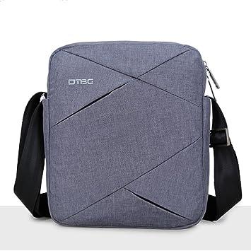 DTBG 9.7 Inch Women Men Shoulder Bag for iPad Pro School Hiking Laptop  Tablet PC Handbag Briefcase Messenger Bag for iPad Pro-Gray  Amazon.in  Bags 7d7657c31