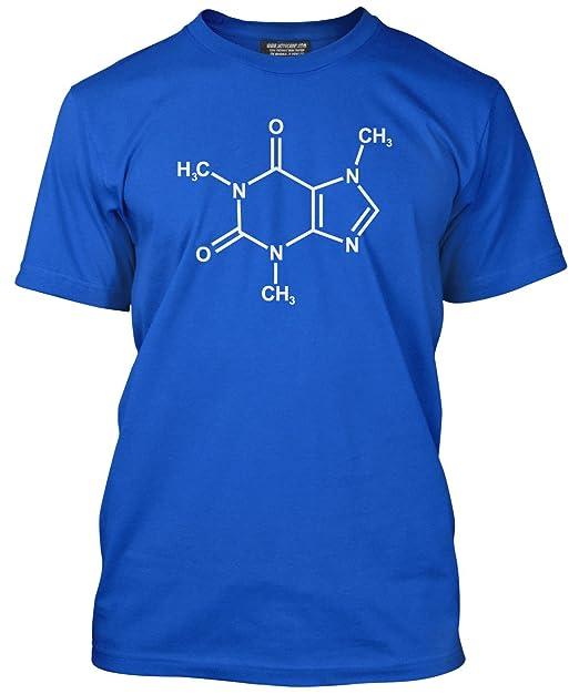 Cafeína X-Trainer Química - Camiseta de café Lover Science chemisty - varios colores y tamaños XS - 3 x l: Amazon.es: Ropa y accesorios