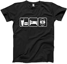 HotScamp Eat Sleep Virtual Reality VR - Mens Unisex T-Shirt
