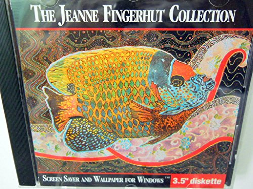 The Jeanne Fingerhut Collection Screen Saver And Wallpaper For Windows 3 5 Inch Diskette
