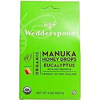 Wedderspoon Organic Manuka Honey Drops, 120 g
