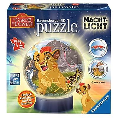 Ravensburger 11815 Luce Di Notte La Garde Dei Leoni 3d Di Puzzle