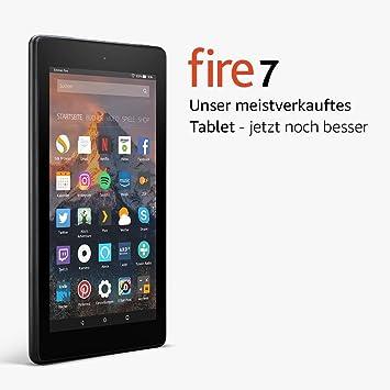 Fire 7 Tablet Zertifiziert Und Generalüberholt 17 7 Cm 7 Zoll Display 8 Gb Schwarz Mit Werbung Vorherige Generation 7 Amazon Devices