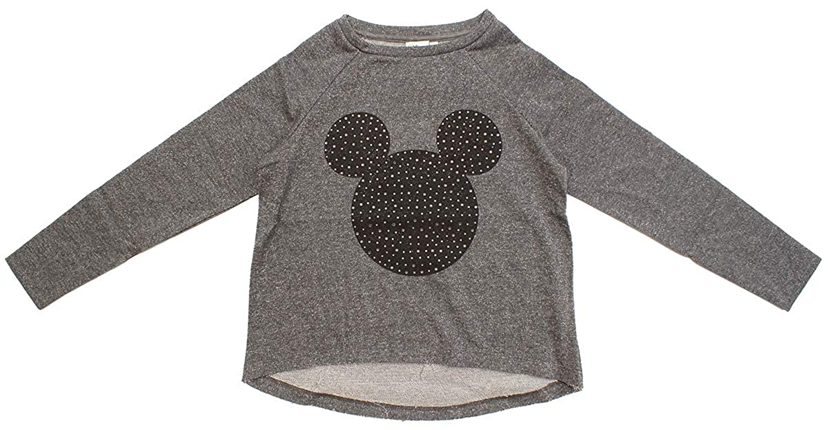 Girls Disney Mickey Minnie Mouse Glitter Sparkle Sweat Jumper Top Sizes  from 9 to 14 Years  Amazon.co.uk  Clothing df3e0b96e