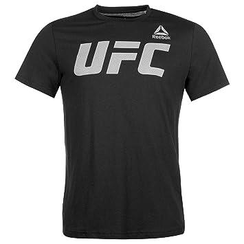 Reebok UFC FG Logo tee Camiseta, Hombre: Amazon.es: Deportes y aire libre