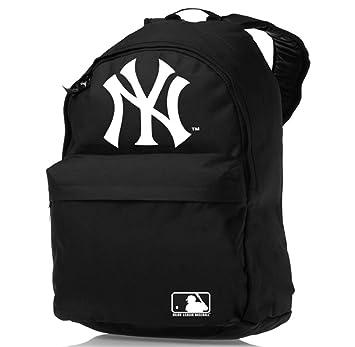 NEW YORK YANKEES BLACK GYM UNI SCHOOL PREP BACKPACK RUCKSACK SPORTS COLLEGE BAG