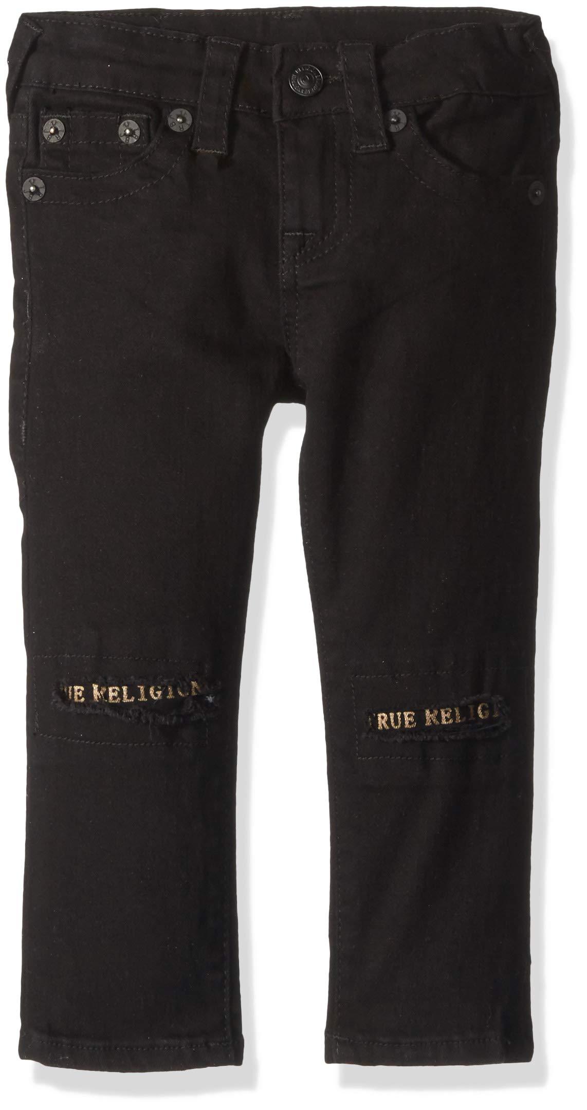 True Religion Boys' Little Jean, Rocco SE PANTBLACK 4