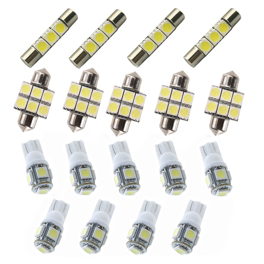 8X-SPEED For Honda 2018 Odyssey Led Interior Lights Led Interior Car Lights Bulbs Kit White 18Pcs