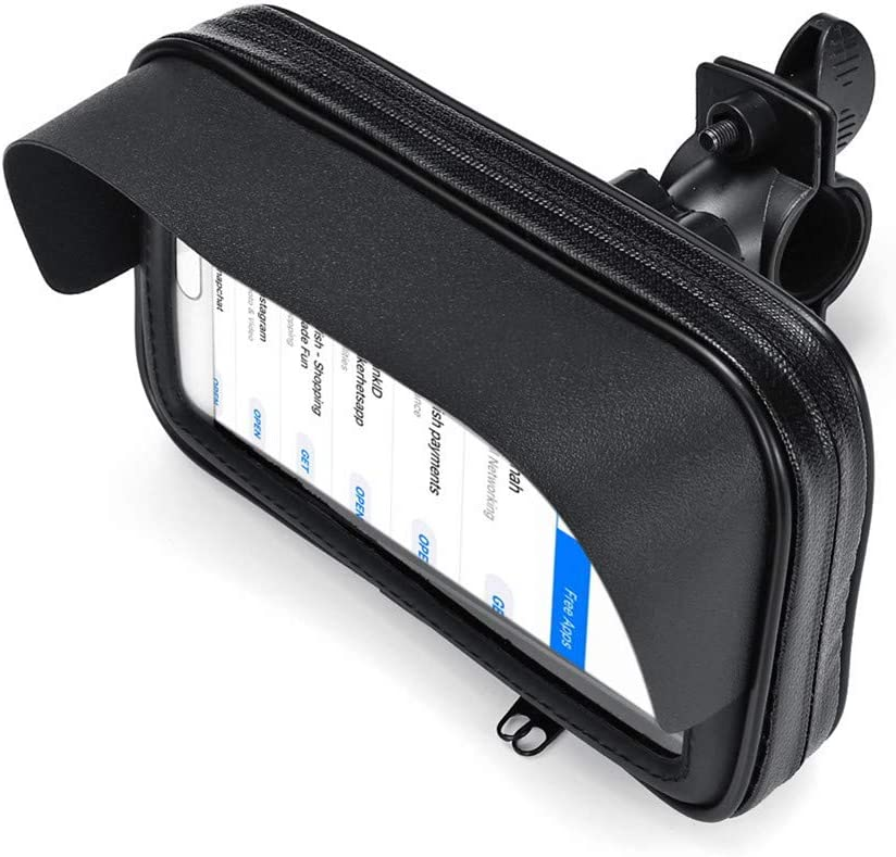 Viviance 5,5Impermeabile Parasole Anti-Uv Cellulare Gps Holder Moto Bicicletta Custodia Bag