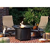 Napoleon Victorian Round Patioflame Gas Fire Pit Table For Sale