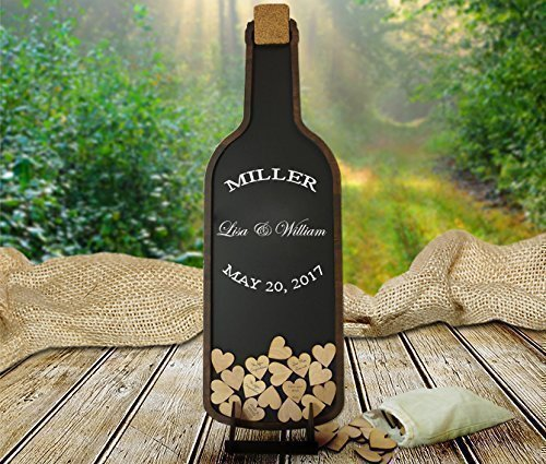 Wine Bottle Guest Book, Wedding, Vineyard, Winery, Guestbook Alternative