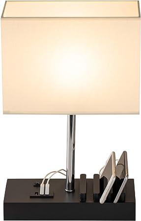 Amazon.com: Hhome Plus - Lámpara de mesa USB multifuncional ...