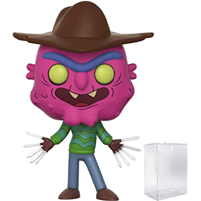 Rick and Morty - Scary Terry Funko Pop! Vinyl Figure (Includes Compatible Pop Box Protector Case): Toys & Games