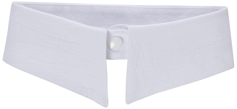 TRIXES Womens Wednesday Addams Fashion White Detachable Collar Choker Neck Bow Tie QQ79
