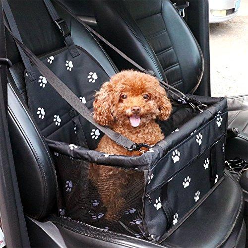 C&D Car Booster Seat for Dog, Folding Pet Car Seats Cat Car