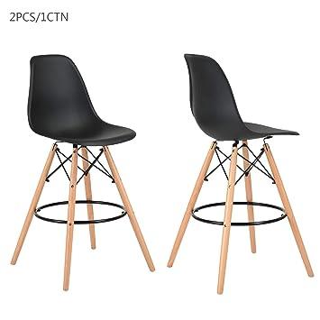 Barhocker ihouse Set von 2 bar Stühle Counter Stuhl Küche Frühstück ...