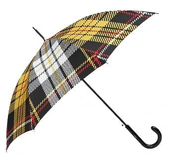 Jean Paul Gaultier luxury designer umbrella in an elegant plaid pattern Mod1 - Luxury Design - Elegant umbrella: Amazon.es: Equipaje