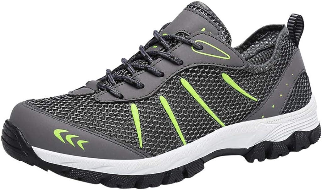 Zapatillas de Trekking para Hombres,ZARLLE Zapatillas de Camping y ...