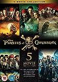 Pirates of the Caribbean 1-5 Boxset [Region 2]