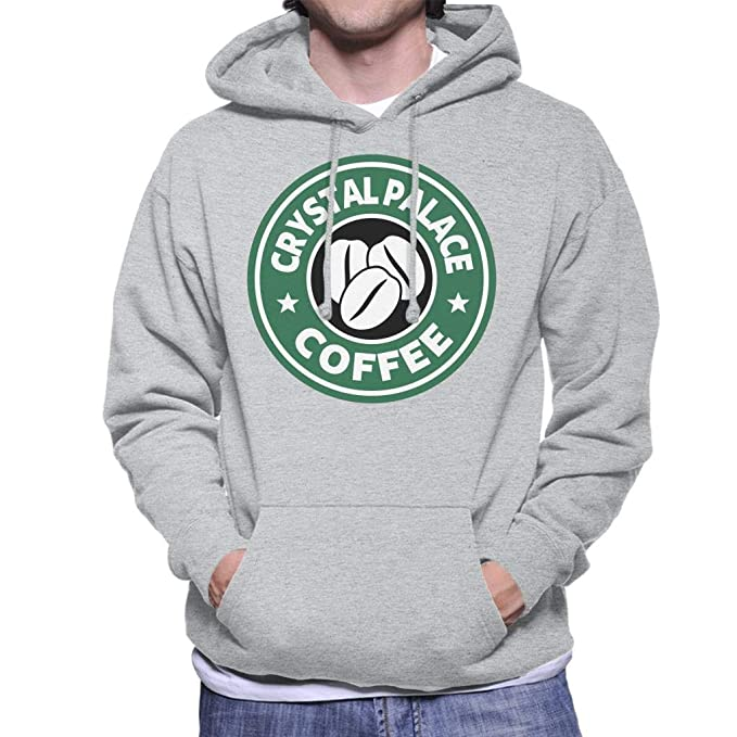 Crystal Palace Coffee Starbucks Mens Hooded Sweatshirt: Amazon.es: Ropa y accesorios