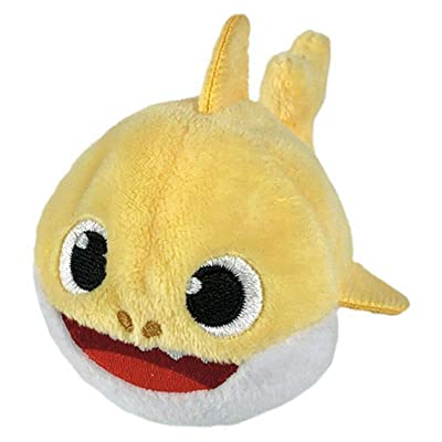 Pinkfong Baby Shark Mini Plush (Baby Shark) - Fun Size Baby Shark Stuffed Beanie from Hit Song Official Baby Shark Stuffed Animal Toy: Toys & Games