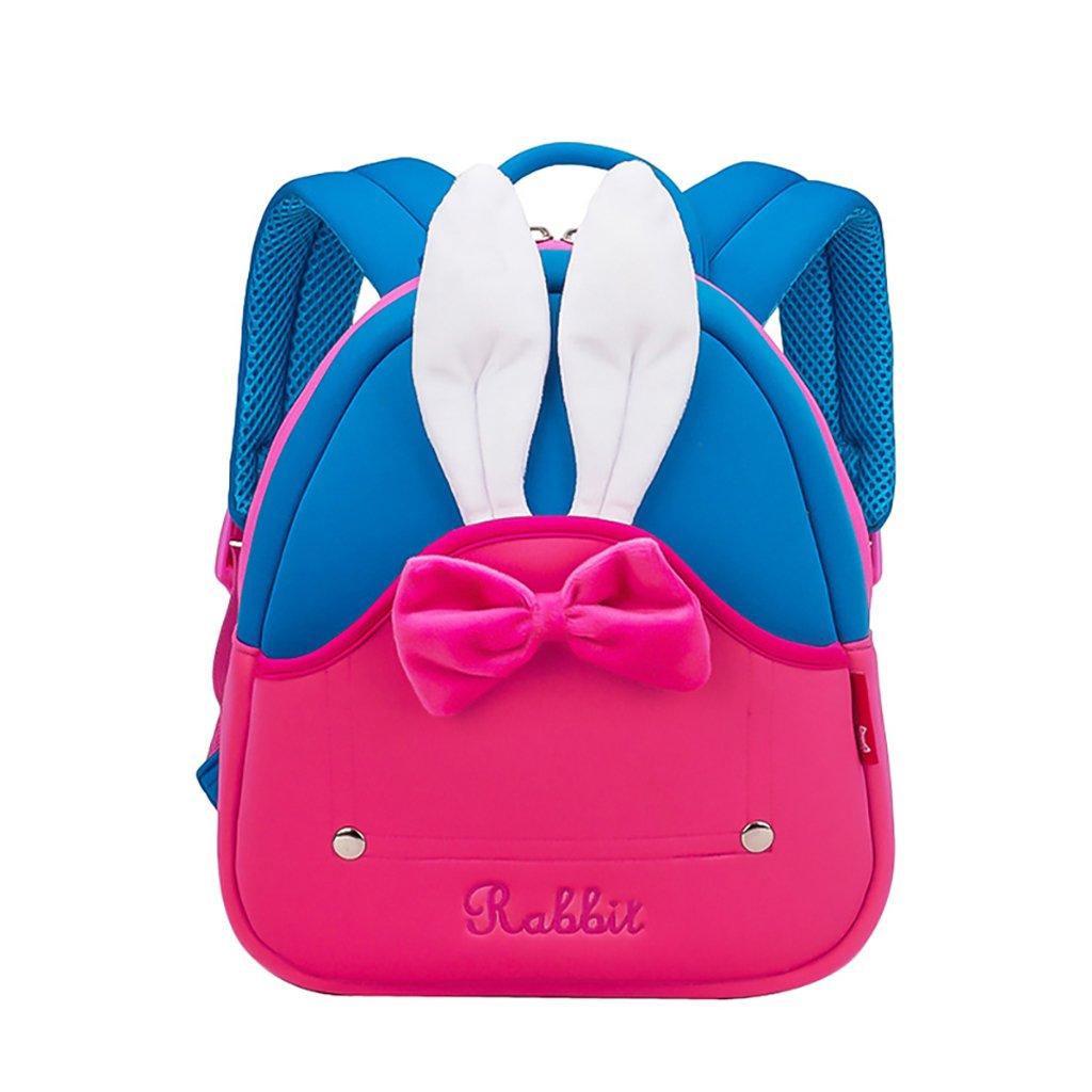 JlRqY子供用3dバックパックwaterproolウサギCartoonバッグ旅行ショルダーバックパック1 – 5歳の古い子供の幼稚園バッグ B07FLK2JTX
