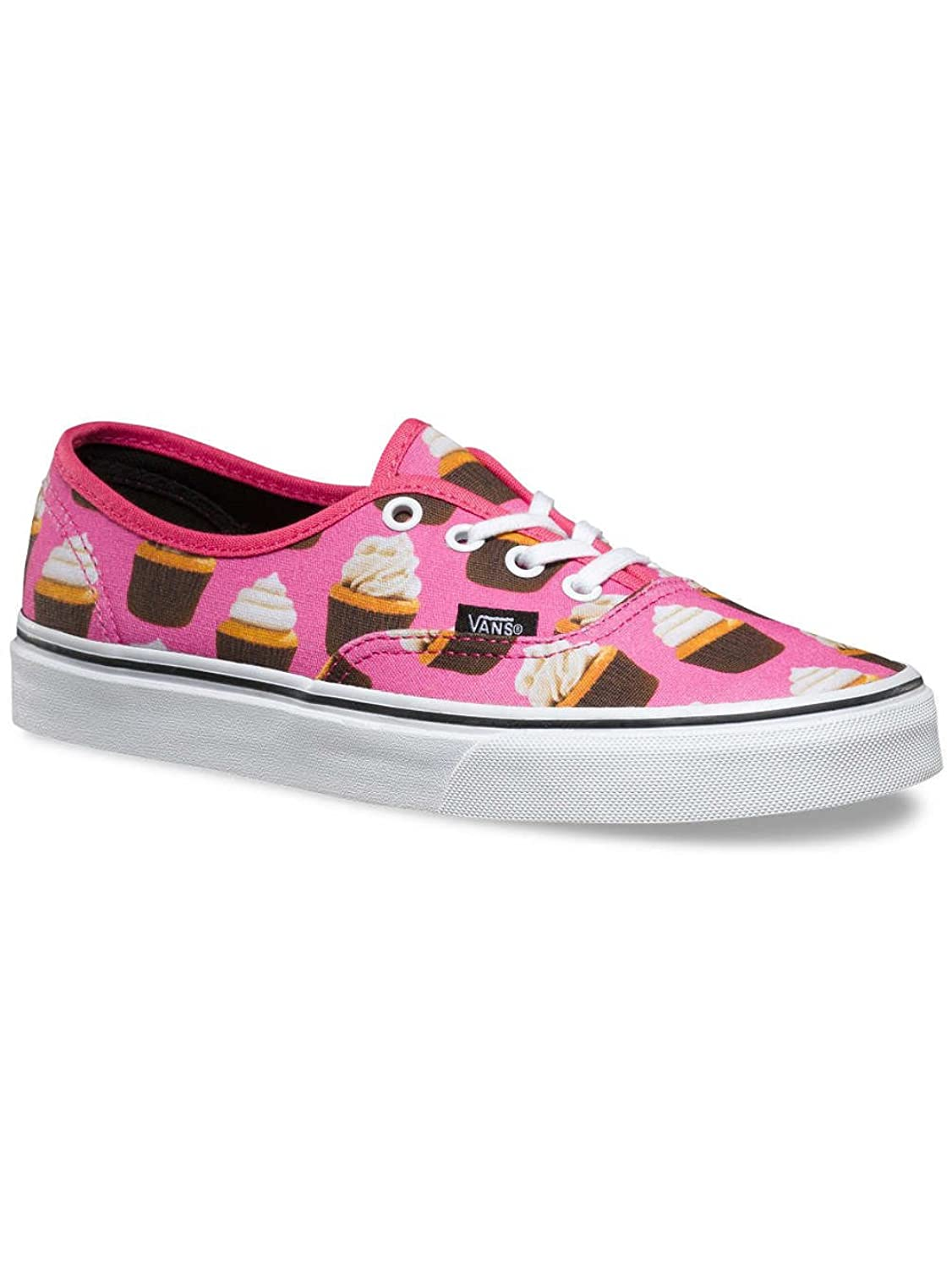 Vans Women's Authentic (Late Night) Hot Pink Cupcakes