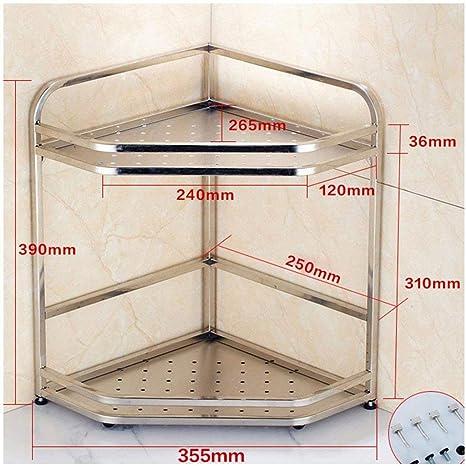 Amazon.com: SHELFDQ Estantería vertical para cocina, estante ...