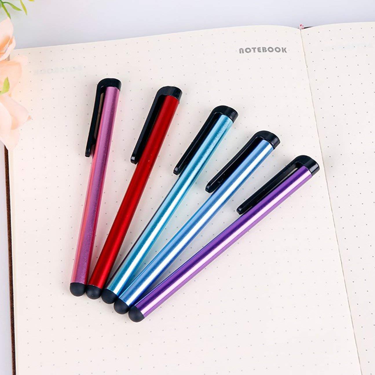 MachinYesity 10 Pezzi Universale Capacitivo Penna Stilo 7.0 Universale Stilo Touchscreen Penne Colore Casuale per iPad Telefono Cellulare Casuale