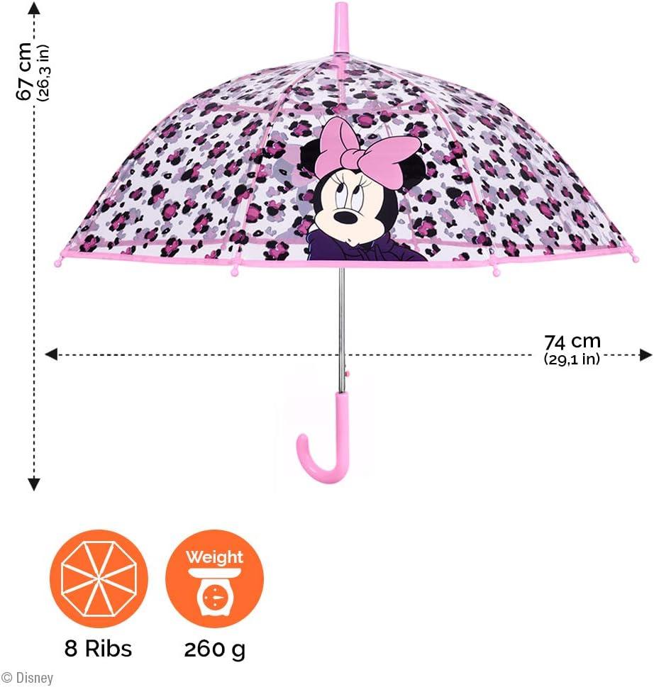 Minnie Mouse Stick Umbrella 56 cm Red DMINN005055