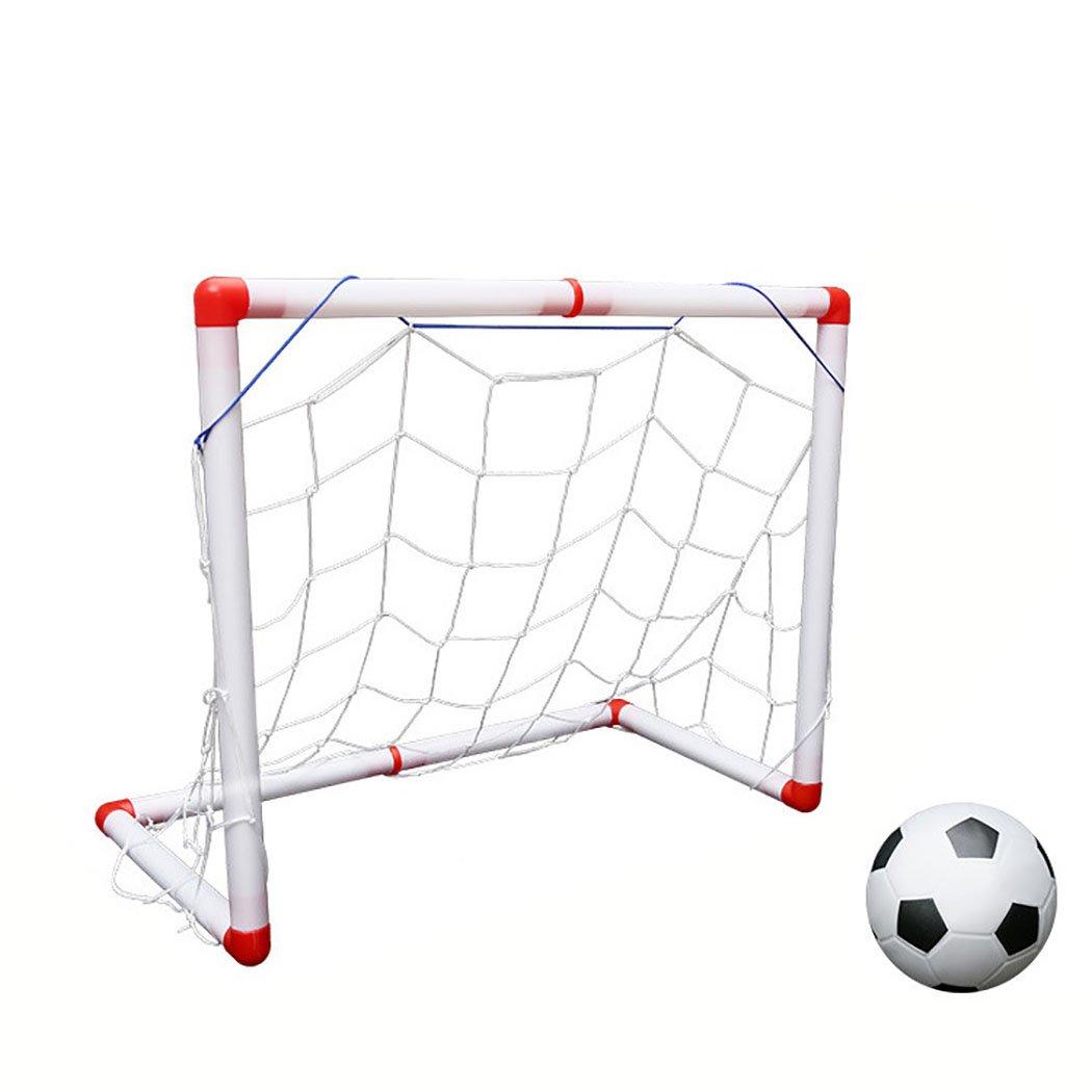 joyibayキッズ用サッカーゴールサッカーボールセットMiniアウトドアインドアFootball Net Toy withエアポンプ B07F76MJKT S